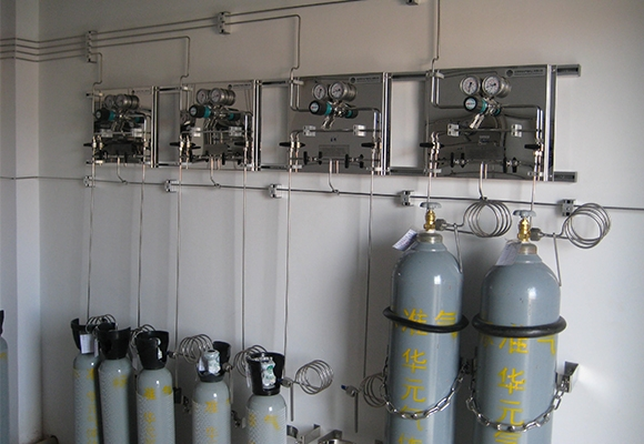 贵州实验室供气系统气瓶室