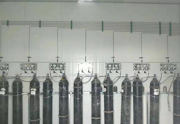 高压气体钢瓶安装