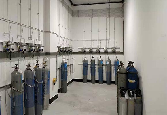 实验室气体管道连接